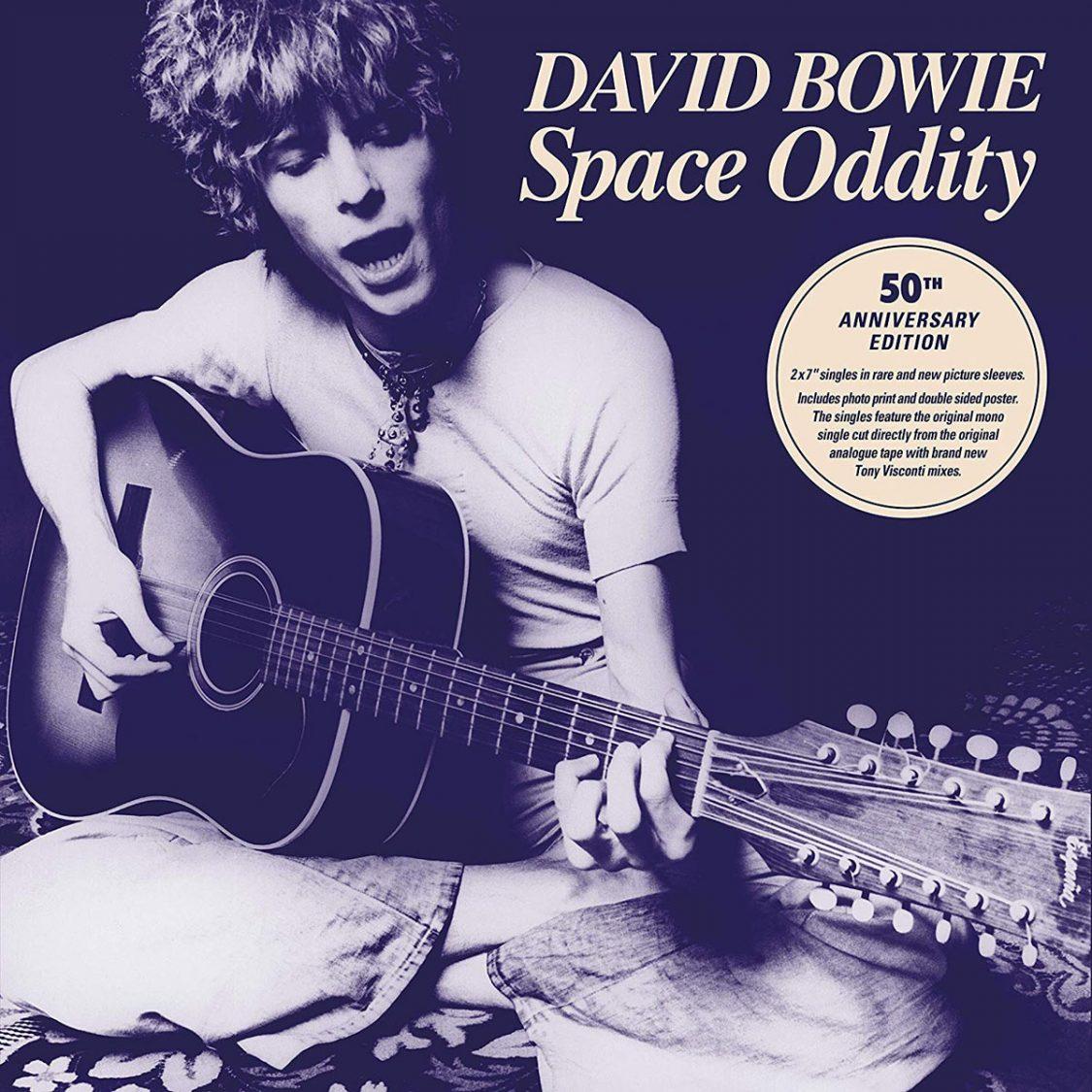 «Space Oddity» вышел на семидюймовой пластинке